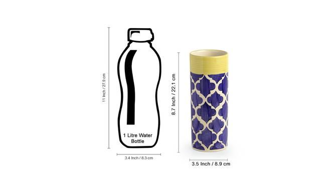 Kiara Vase (Table Vase Type) by Urban Ladder - Design 1 Side View - 319206