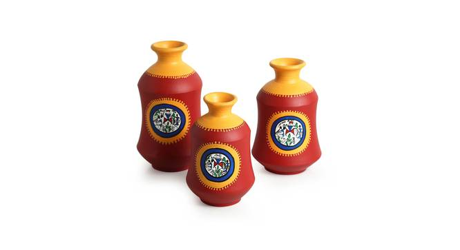 Padma Vase-Set of 3 (Table Vase Type) by Urban Ladder - Front View Design 1 - 319262