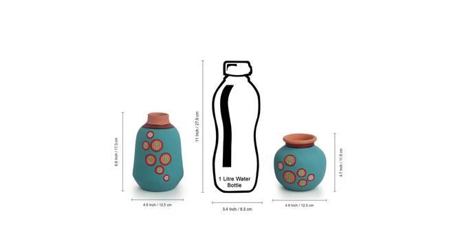 Pinoi Vase-Set of 2 (Table Vase Type) by Urban Ladder - Design 1 Side View - 319265