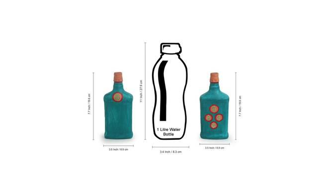 Vindhya Vase-Set of 2 (Table Vase Type) by Urban Ladder - Design 1 Side View - 319268
