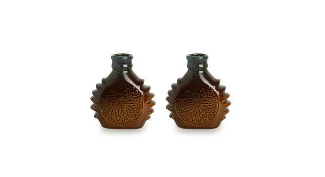 Triya Vase-Set of 2 (Table Vase Type) by Urban Ladder - Front View Design 1 - 319276