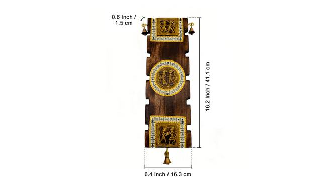 Hiral wall Decor by Urban Ladder - Design 1 Side View - 319358