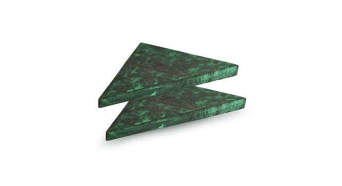 Namya Wall Decor(triangle) (Teal) by Urban Ladder - Front View Design 1 - 319378