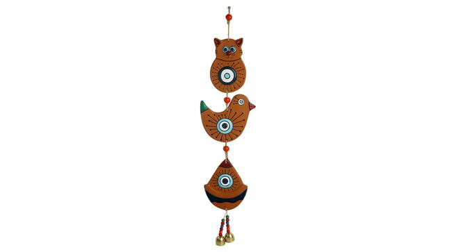 Ramine Wall Decor(2 set) (Brown) by Urban Ladder - Front View Design 1 - 319417