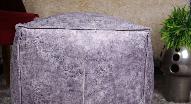Chevina Pouffe (Grey) by Urban Ladder - Ground View Design 1 - 319520