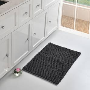 Corale Bath Mat (Grey) by Urban Ladder - Front View Design 1 - 319680
