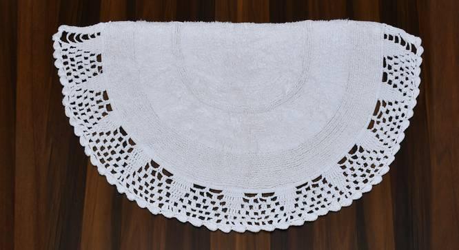 Harime Bath Mat (White) by Urban Ladder - Cross View Design 1 - 319715