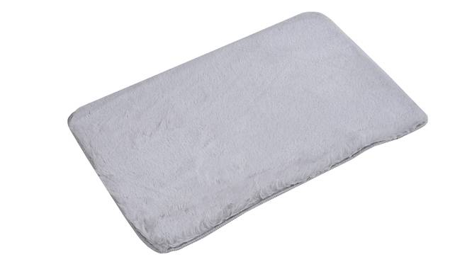 Hivano Bath Mat (Grey) by Urban Ladder - Cross View Design 1 - 319744