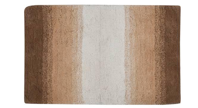 Hulane Bath Mat (Brown) by Urban Ladder - Cross View Design 1 - 319756