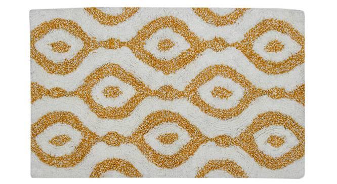 Miran Bath Mat (Yellow) by Urban Ladder - Cross View Design 1 - 319781