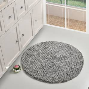 Pinata Bath Mat (Grey) by Urban Ladder - Front View Design 1 - 319790