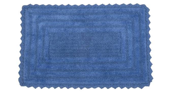 Praile Bath Mat (Blue) by Urban Ladder - Cross View Design 1 - 319801