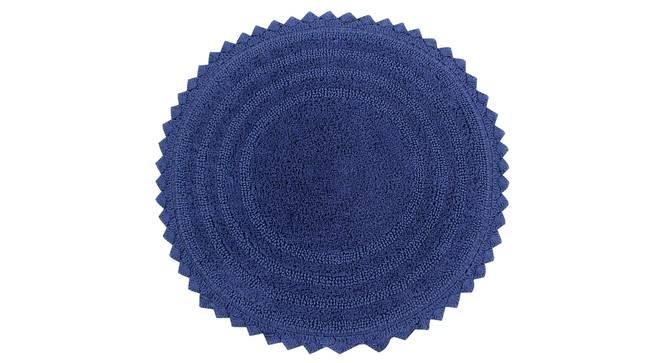 Riwana Bath Mat (Navy Blue) by Urban Ladder - Cross View Design 1 - 319862