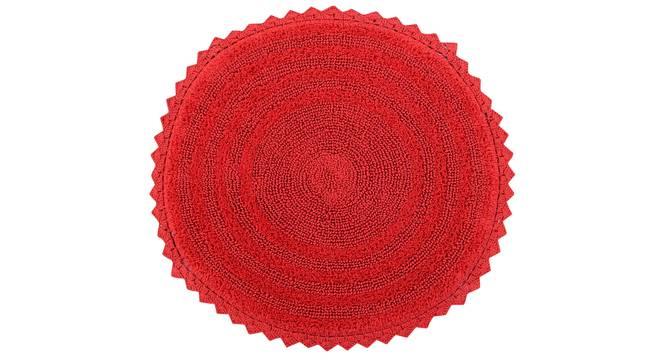 Riwana Bath Mat (Red) by Urban Ladder - Cross View Design 1 - 319866