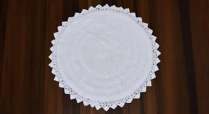 Riwana Bath Mat (White) by Urban Ladder - Cross View Design 1 - 319870