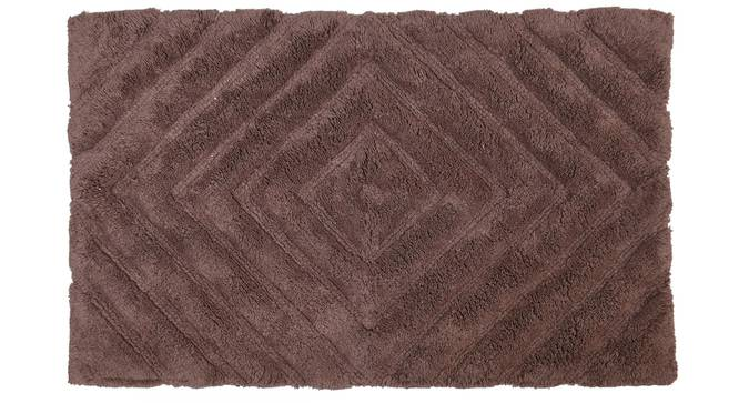 Roxana Bath Mat (Brown) by Urban Ladder - Cross View Design 1 - 319880