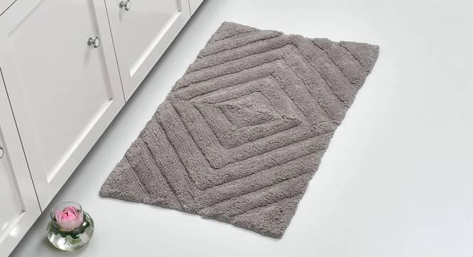 Roxana Bath Mat (Grey) by Urban Ladder - Front View Design 1 - 319884