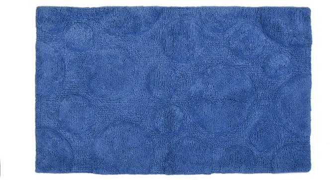 Sherry Bath Mat (Blue) by Urban Ladder - Cross View Design 1 - 319895