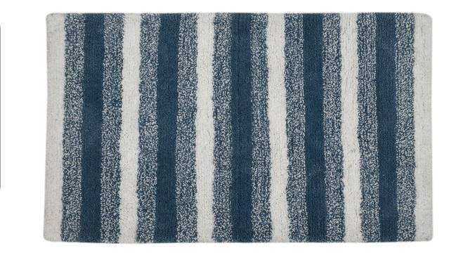 Tixie Bath Mat (Blue) by Urban Ladder - Cross View Design 1 - 319935