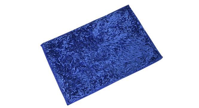 Tresmont Bath Mat (Blue) by Urban Ladder - Cross View Design 1 - 319940