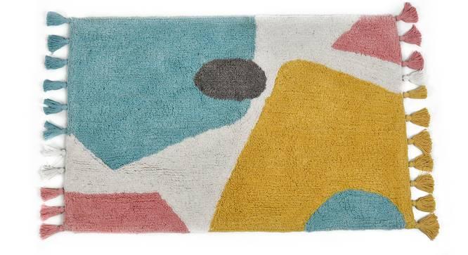 Ursula Bath Mat (Aqua) by Urban Ladder - Cross View Design 1 - 319960