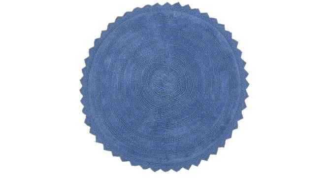 Wulina Bath Mat (Blue) by Urban Ladder - Cross View Design 1 - 319982