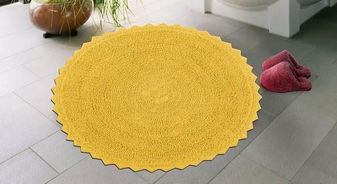 Wulina Bath Mat (Yellow) by Urban Ladder - Front View Design 1 - 319991