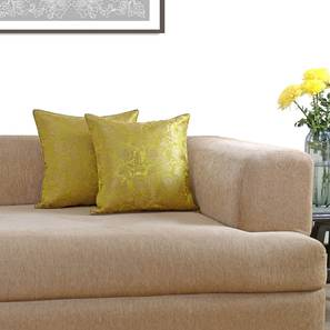 Ryta cushion cover   set of 2 lime green viscose lp