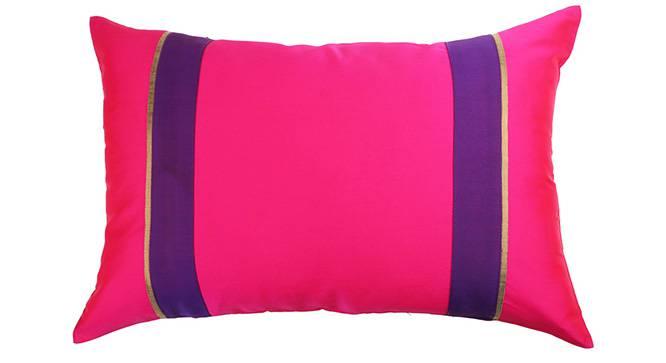 "Clover Cushion Cover - Set of 5 (30 x 46 cm  (12"" X 18"") Cushion Size, Fuchsia) by Urban Ladder - Design 1 Details - 320131"