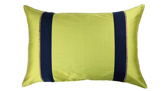 "Clover Cushion Cover - Set of 5 (Lime Green, 30 x 46 cm  (12"" X 18"") Cushion Size) by Urban Ladder - Design 1 Details - 320141"