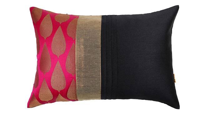 "Callisto Cushion Cover (Pink, 30 x 46 cm  (12"" X 18"") Cushion Size) by Urban Ladder - Design 1 Details - 320176"
