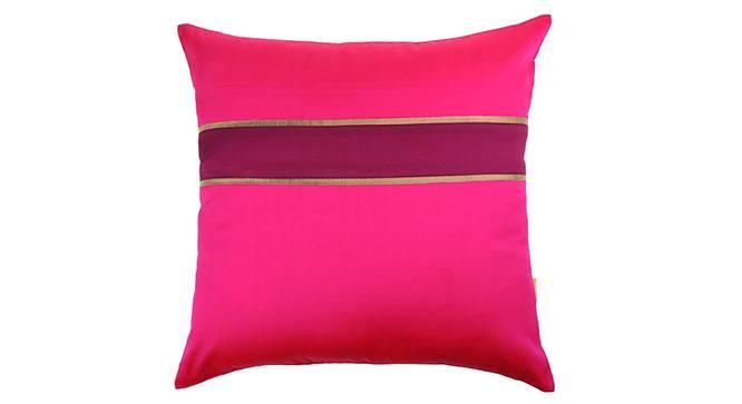 "Rune Cushion Cover - Set of 5 (41 x 41 cm  (16"" X 16"") Cushion Size, Fuchsia) by Urban Ladder - Design 1 Details - 320205"
