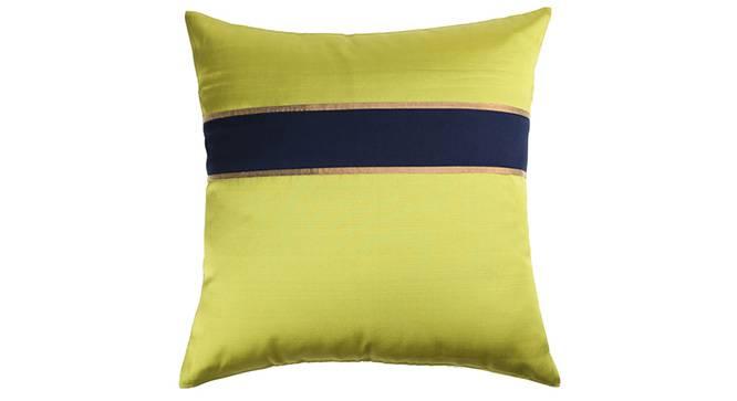 "Rune Cushion Cover - Set of 3 (Lime Green, 41 x 41 cm  (16"" X 16"") Cushion Size) by Urban Ladder - Design 1 Details - 320210"