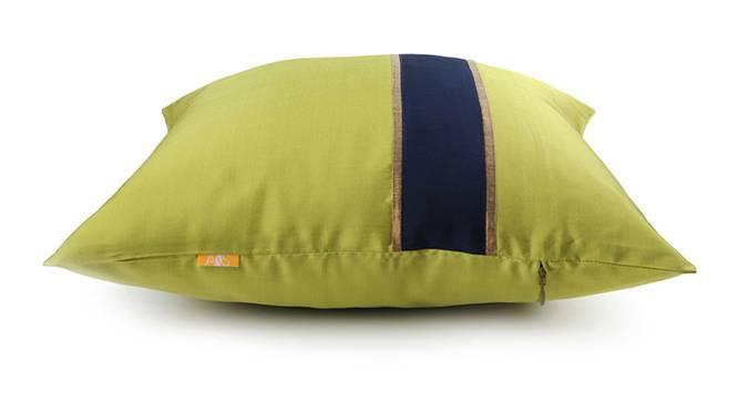 "Rune Cushion Cover - Set of 3 (Lime Green, 41 x 41 cm  (16"" X 16"") Cushion Size) by Urban Ladder - Design 1 Top View - 320211"