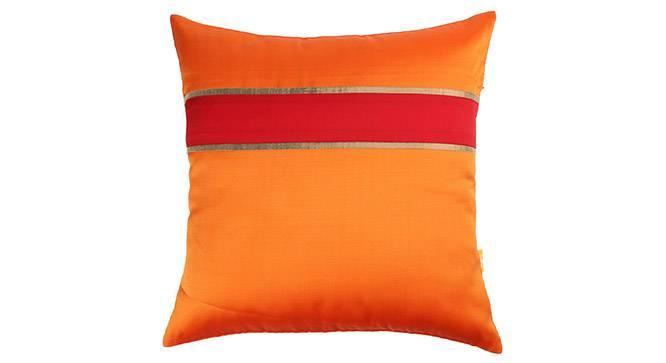 "Rune Cushion Cover - Set of 5 (Orange, 41 x 41 cm  (16"" X 16"") Cushion Size) by Urban Ladder - Design 1 Details - 320235"