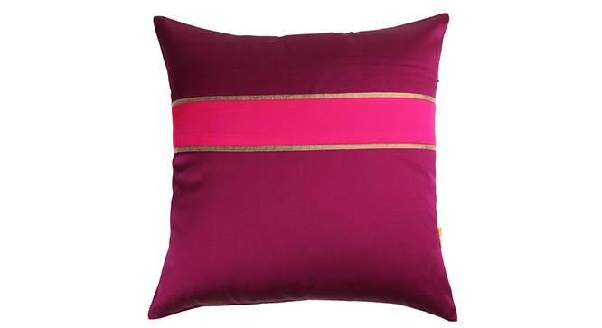 "Rune Cushion Cover - Set of 3 (Purple, 41 x 41 cm  (16"" X 16"") Cushion Size) by Urban Ladder - Design 1 Details - 320240"