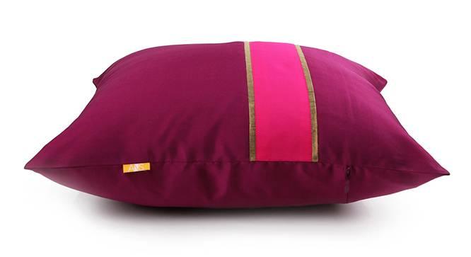 "Rune Cushion Cover - Set of 5 (Purple, 41 x 41 cm  (16"" X 16"") Cushion Size) by Urban Ladder - Design 1 Top View - 320246"