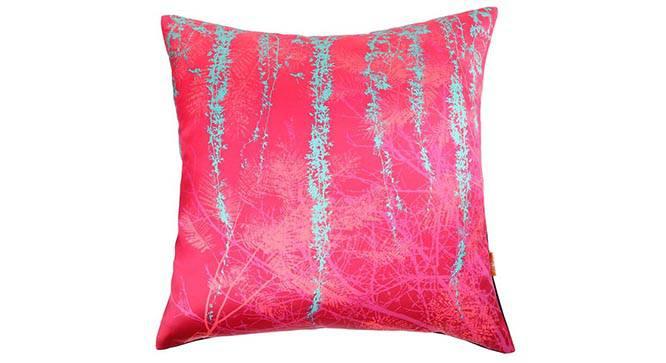 "Sena Cushion Cover - Set of 5 (41 x 41 cm  (16"" X 16"") Cushion Size, Fuchsia) by Urban Ladder - Design 1 Details - 320285"