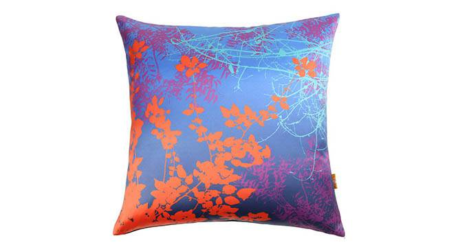 "Sepia Cushion Cover - Set of 3 (Purple, 41 x 41 cm  (16"" X 16"") Cushion Size) by Urban Ladder - Design 1 Details - 320310"