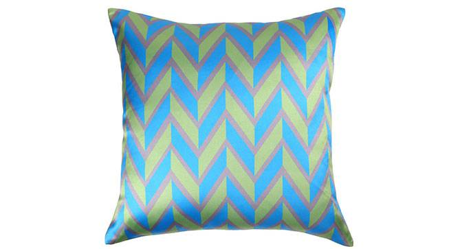 """Jerina Cushion Cover - Set of 3 (Green, 41 x 41 cm  (16"""" X 16"""") Cushion Size) by Urban Ladder - Design 1 Details - 320330"""