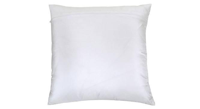 "Reaver Cushion Cover (Silver, 41 x 41 cm  (16"" X 16"") Cushion Size) by Urban Ladder - Design 1 Top View - 320351"