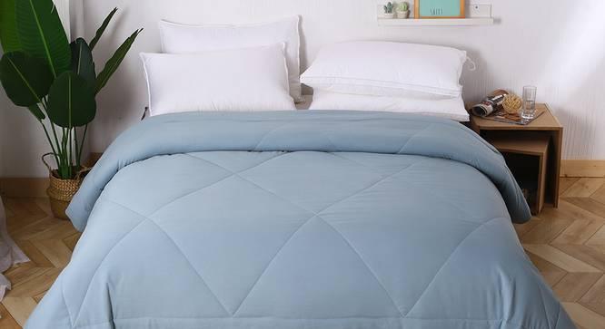 Bernad Comforter (Sky Blue, Double Size) by Urban Ladder - Design 1 Details - 320368