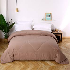 Blythe comforter blythe brown solid double lp