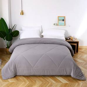 Cassandra Comforter (Grey, Double Size) by Urban Ladder - Design 1 Details - 320405