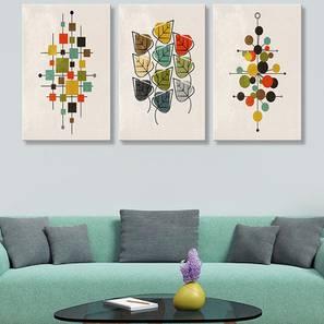 Estine Wall Art-Set of 3 by Urban Ladder - Design 1 - 320484
