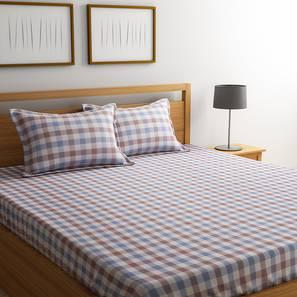 Almano bedsheet set white king lp