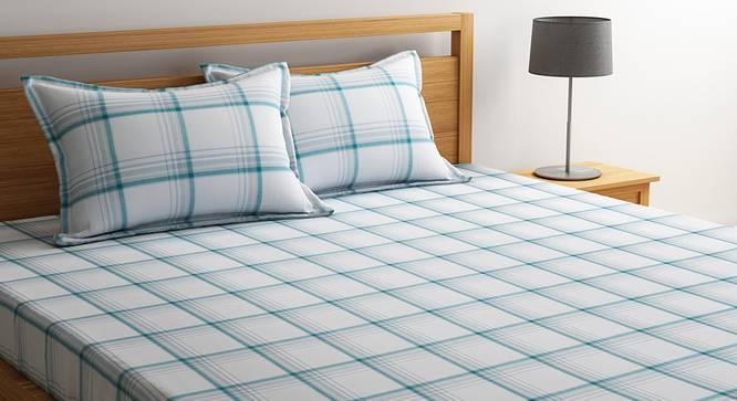 Luka Bedsheet Set (White, King Size) by Urban Ladder - Design 1 Details - 320664