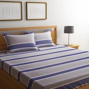 Yamin  bedsheet set grey geometric double lp