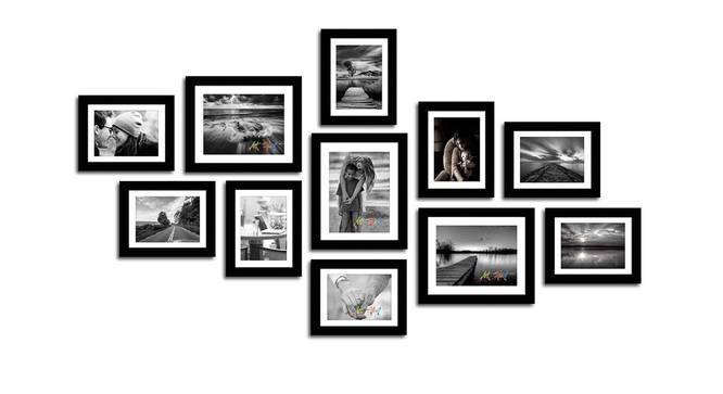 Melissa Photo Frame (Black) by Urban Ladder - Front View Design 1 - 320968