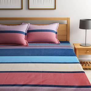 Penrose bedsheet set multicolored geometric doublr lp